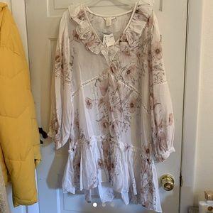 Women's H&M floral dress size 12 NWT